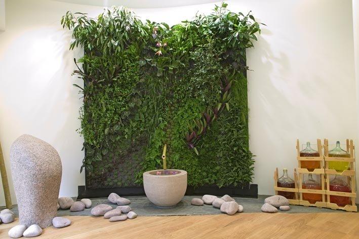 Weleda paris mur vegetal patrick blanc - Patrick blanc mur vegetal ...