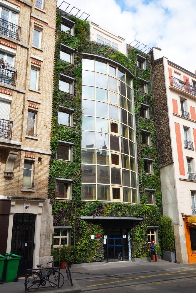 Green Hotel Paris France  Rue De Patay