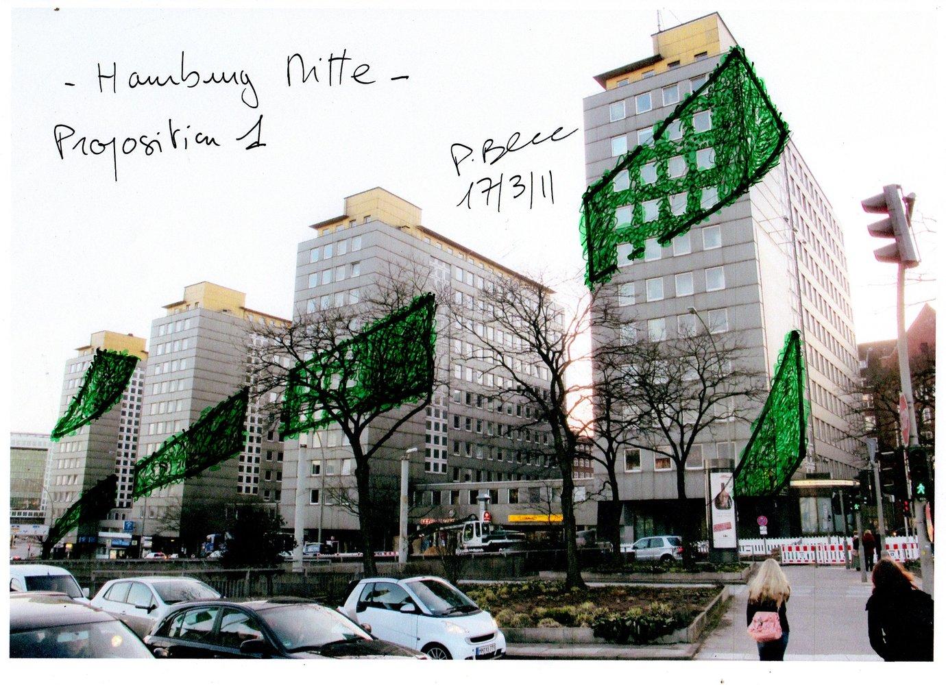 Hamburg mitte mur vegetal patrick blanc - Mur vegetal patrick blanc ...