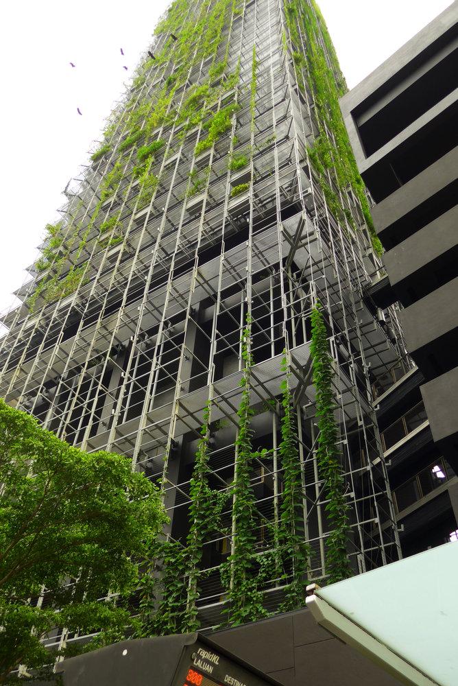 Le Nouvel Kuala Lumpur Mur Vegetal Patrick Blanc